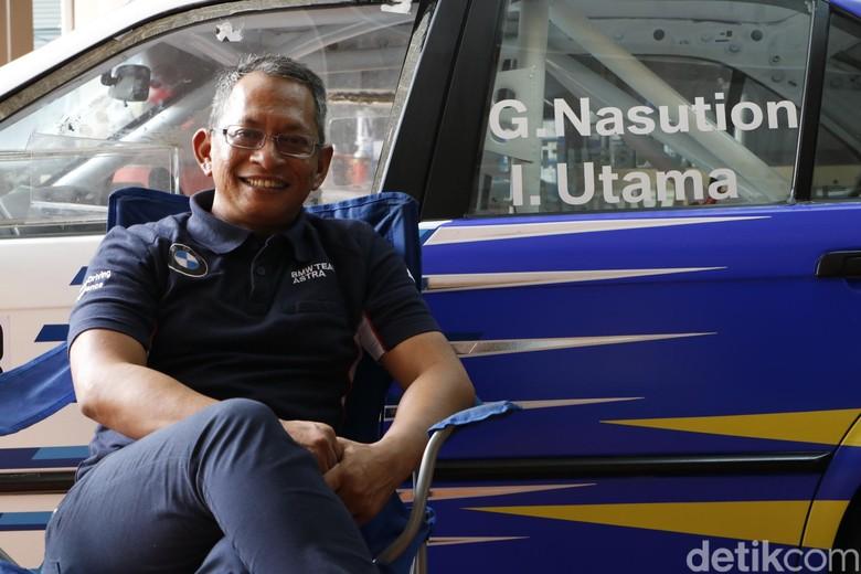 Gerry Nasution, pebalap dan instruktur mengemudi Indonesia yang sudah diakui Jerman. Foto: Khairul Imam Ghozali