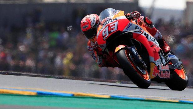 Marc Marquez telah meraih lima titel juara dunia MotoGP sepanjang kariernya.