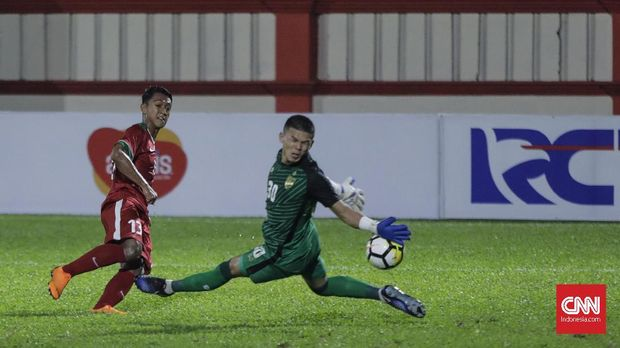 Permainan cepat Febri Hariyadi akan menjadi andalan Timnas Indonesia vs Mauritius.
