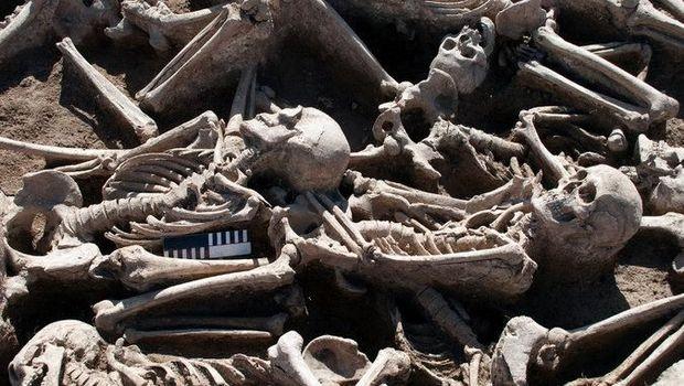 Fosil tulang kuno tempat ditemukannya DNA Hepatitis B