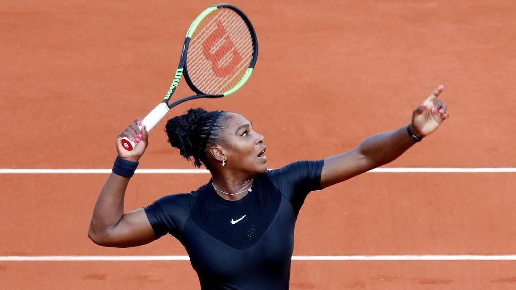 Kostum Tennis ala Wakanda Dilarang Dipakai, Ini Respons Serena Williams