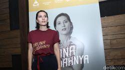 Antusias Hannah Al Rashid Berakting di Aruna dan Lidahnya