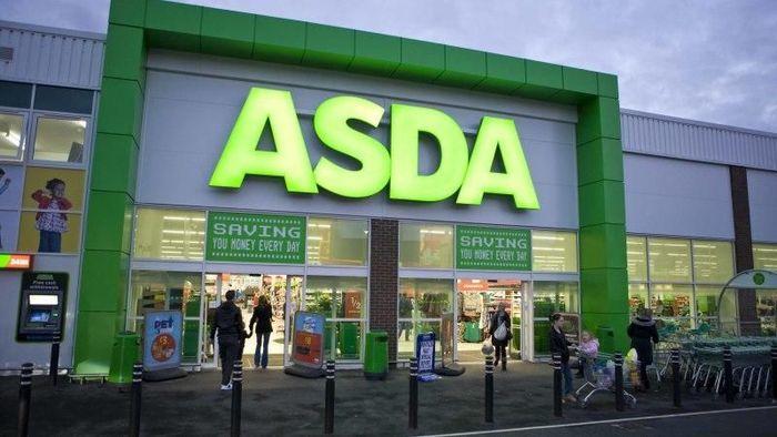 Asda merupakan supermarket yang beroperasi di Inggris. Walmart membeli Asda pada 1999 dengan nilai 6,7 miliar euro.Foto: Dok. Walmart.com