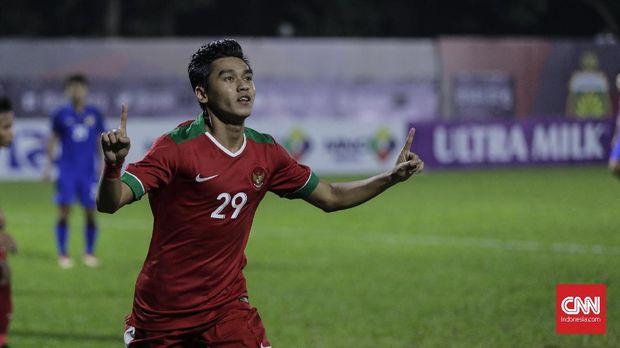 Septian David Maulana menjadi top skor Timnas Indonesia U-23.