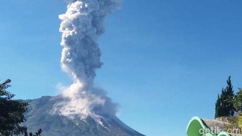 Merapi Erupsi, BMKG: Abu Vulkanik Mulai Menyebar ke Utara-Selatan