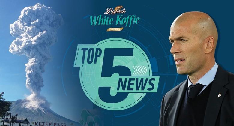 Merapi Erupsi Lagi, Selamat Tinggal Zidane
