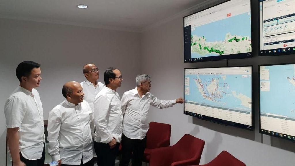 Operasikan NOC, Triasmitra Genjot Bisnis Kabel Laut dan Darat