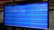 Tutup 4 Jam Akibat Abu Merapi, Bandara Semarang Dibuka Kembali