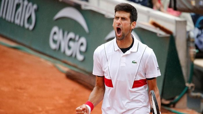 Novak Djokovic melaju ke babak keempat Prancis Terbuka 2018 (Foto: Pascal Rossignol/Reuters)