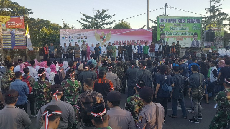 Hari Lahir Pancasila Dijadikan Momen Lawan Terorisme di Banten