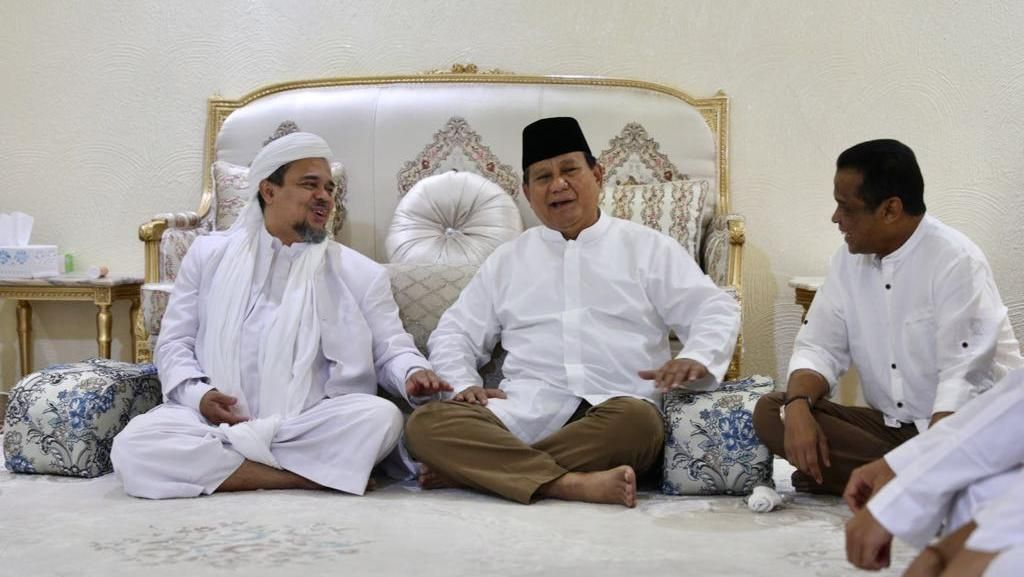 Siapa Bikin Hoax Maklumat Habib Rizieq Tinggalkan Prabowo?