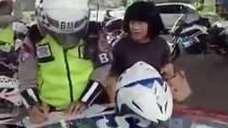 Ibu-ibu Ngamuk Ditilang di Bogor, Polisi: Biar Sadar Sendiri