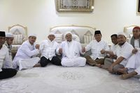 Momen pertemuan Amien Rais hingga Prabowo dengan Habib Rizieq di Tanah Suci.