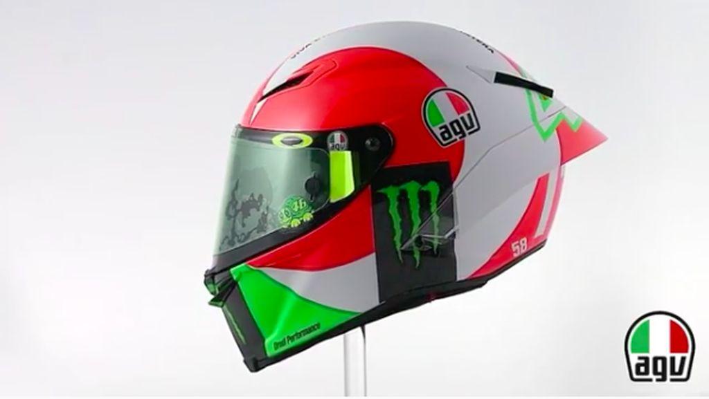 Helm Rossi di Mugello Bakal Berkelir Bendera Italia