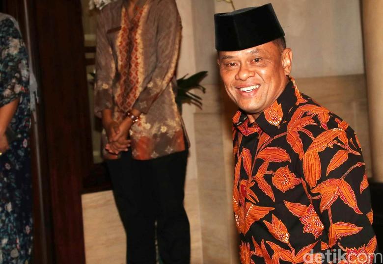 Gatot Nurmantyo Minta Fotonya Diturunkan dari Baliho Prabowo-Sandi