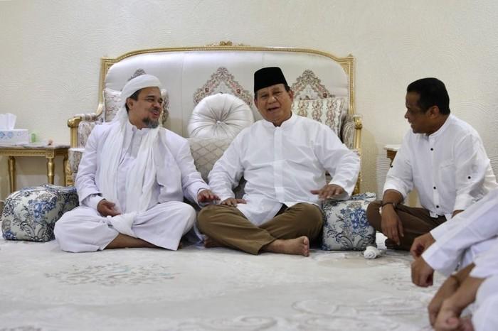 Habib Rizieq dan Prabowo (Foto: Dok. Istimewa)