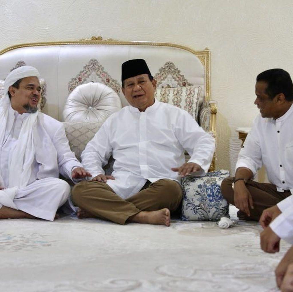 Janji Prabowo Menjemput Habib Rizieq