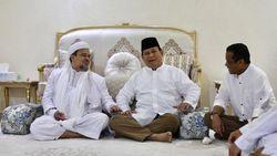 Gerindra Segera Bentuk Tim untuk Prabowo Jemput Habib Rizieq