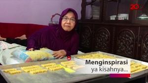 Berjualan Kue Kini Jadi Fokus Nenek 67 Tahun yang Lumpuh Ini Agar Tetap Aktif