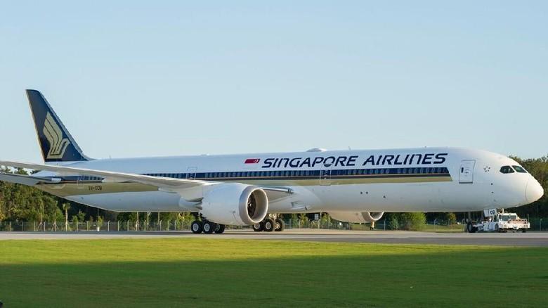 Foto: Ilustrasi Maskapai SIngapore Airlines (Singapore Airlines)