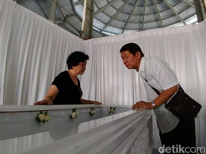 Agus Trisno Wiyogo, korban bom Surabaya meninggal/Foto: Deny Prastyo Utomo