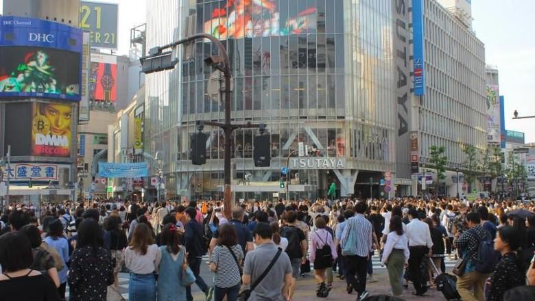 Foto: Shibuya Crossing di Tokyo (Abdillah Hadi Wijaya/dTraveler)