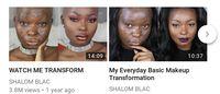 Channel YouTube Shalom Blac.