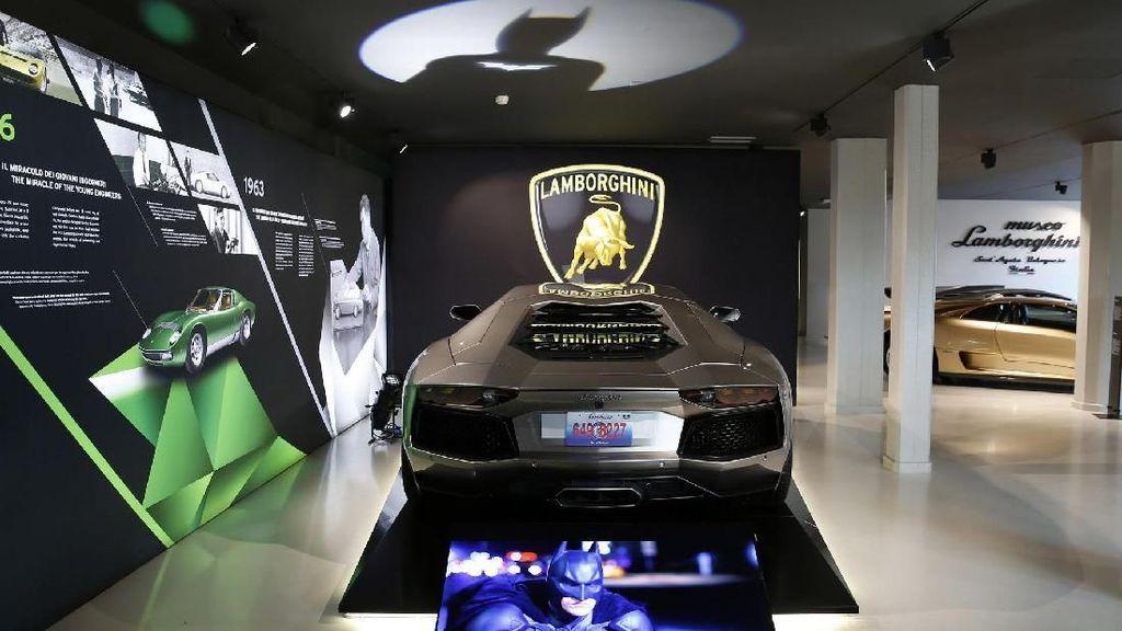 Mobil Batman Hingga Fast&Furious Ada di Museum Lamborghini