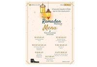 Menu iftar UBISOC di minggu ke-2 Ramadan.