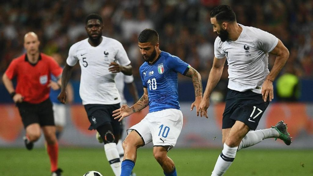 Mancini: Italia Bisa Samai Level Prancis Satu Tahun Lagi