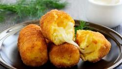 Resep Kroket Kentang Isi Keju, Daging, dan Sayuran yang Enak
