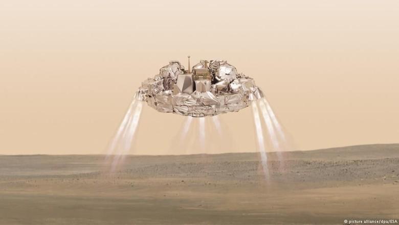 Wahana Antariksa Eropa Lacak Bukti Kehidupan di Planet Mars