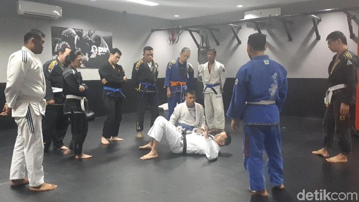 Timnas Jujitsu (Foto: Mercy Raya/detikSport)