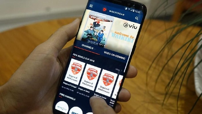 Foto: Telkomsel merilis aplikasi video on-demand MAXstream