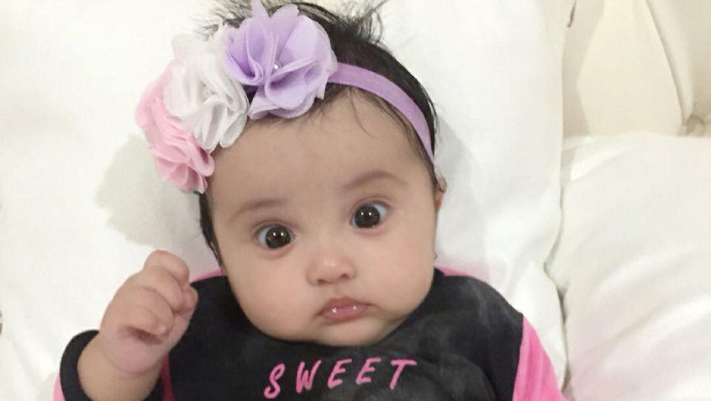 Umur 4 Bulan, Baby Kylie Putri Andi Soraya Makin Menggemaskan
