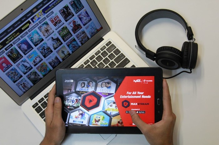 Foto: Telkomsel merilis aplikasi video on-demand MAXstream