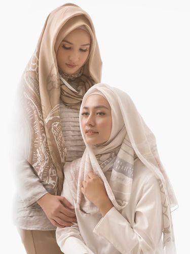 Hijab dengan 'Motif Ngumpet' Diprediksi Akan Tren di 2019