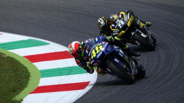 Rossi yakin potensi motor Yamaha M1 bisa lebih terlihat di MotoGP Catalunya.