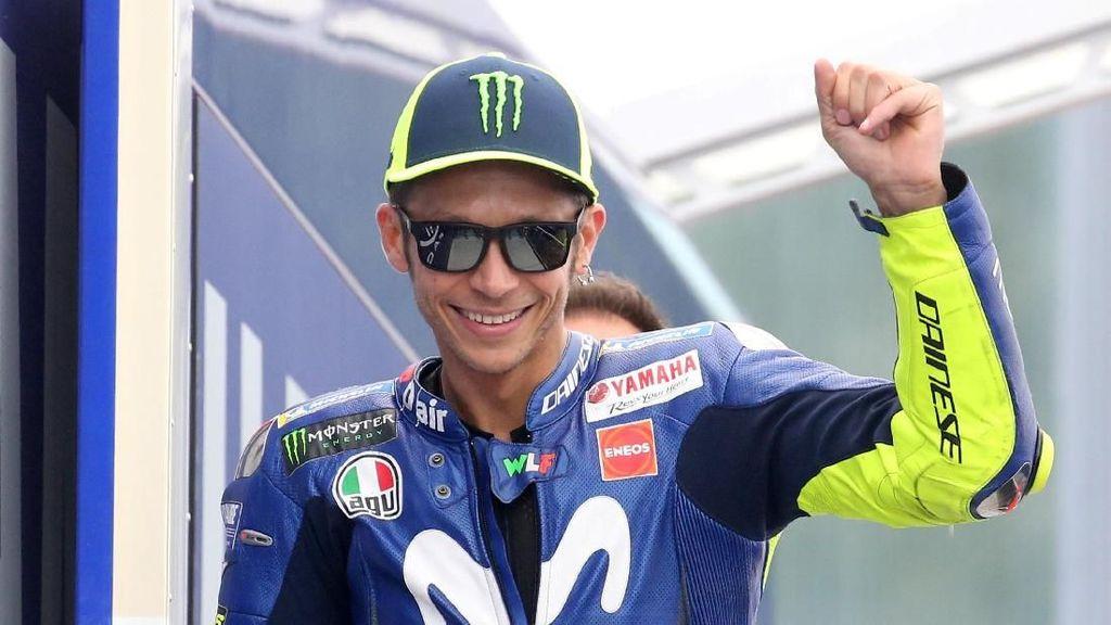 Valentino Rossi Tercepat di Latihan Bebas I MotoGP Catalunya