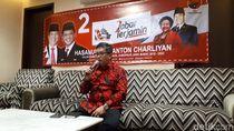 Kader PDIP Patungan untuk Logistik Tb Hasanuddin-Anton Charliyan