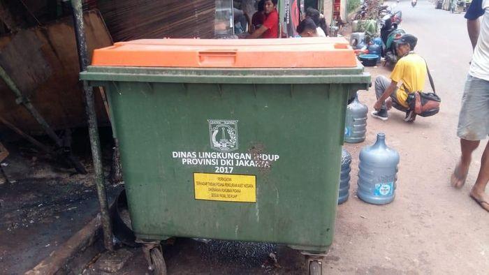Foto: Tong sampah made in Jerman (Dinas Lingkungan Hidup DKI)