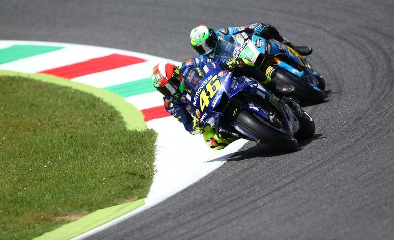Valentino Rossi. Foto: REUTERS/Alessandro Bianchi