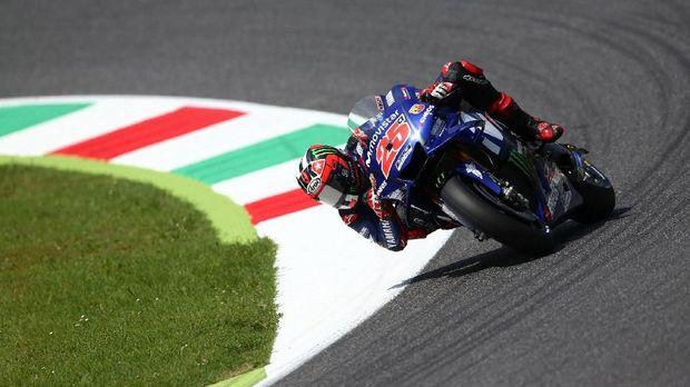Maverick Vinales menempati peringkat keempat dalam kualifikasi MotoGP Jerman 2018.