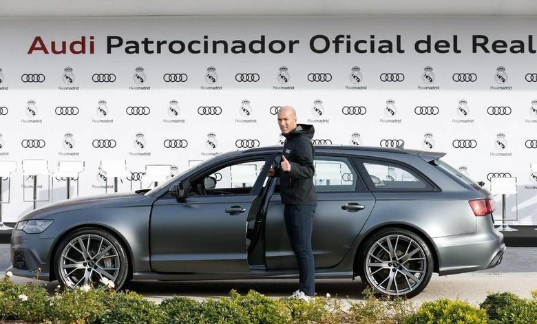 Mobil Audi RS6 Avant Performance pilihan Zinedine Zidane. Foto: Audi