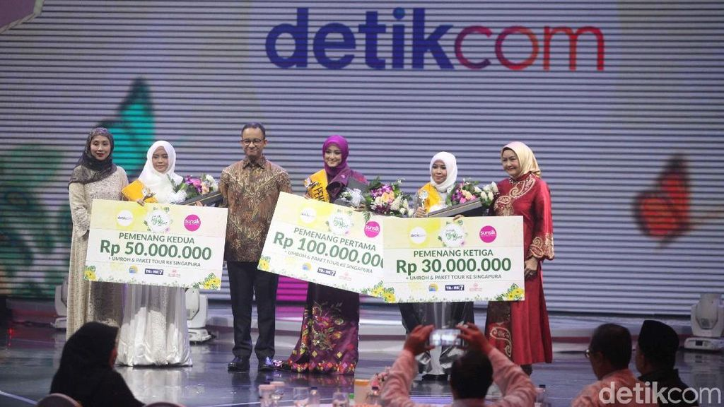 Pujian Anies bagi Sunsilk Hijab Hunt 2018