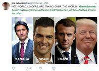 Salah Fokus, Netizen Tersihir Wajah Tampan PM Baru Spanyol