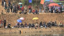 Geger, Mayat Laki-laki Terkail Pancingan Warga di Sungai Citarum