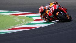 Tes MotoGP Catalunya: Marquez Tercepat, Petrucci Puas Meski Crash