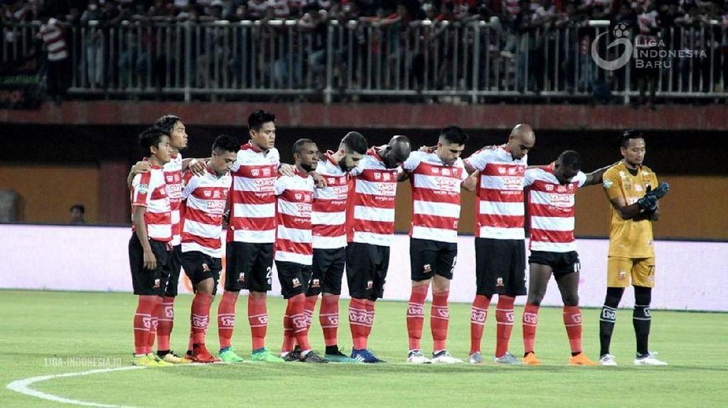 Madura United Minta Maaf ke Fans Usai Diimbangi Bali United