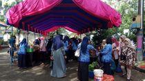 Jelang Lebaran, Pasar Murah Maros Ludes Diserbu ASN